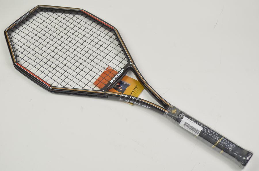 (中古 ラケット テニスラケット)ダンロップ ポリゴンDUNLOP POLYGON 1985(L3)【中古】(スポーツ/ラケット/硬式用/テニスラケット/ダンロップ/テニスサークル) 人気 20P20May17