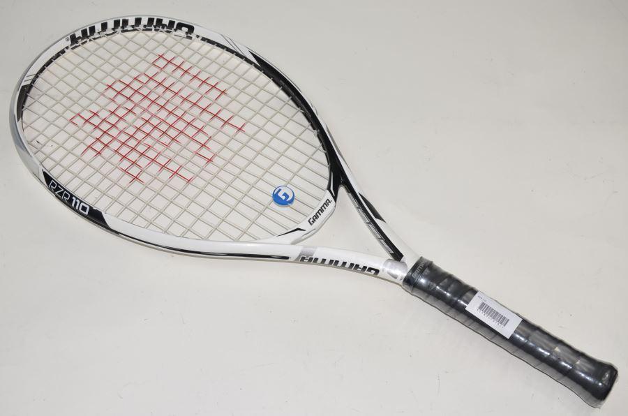 【中古】ガンマ レイザー 110GAMMA RZR 110(G1)【中古 テニスラケット】(ラケット 硬式用 中古ラケット 中古テニスラケット 硬式テニスラケット テニスサークル 部活 テニス用品)