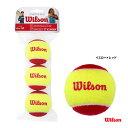 【応援クーポン10%OFF対象商品:11月20日まで】ウイルソン Wilson テニスボール スターター・イージー・ボール ノン…