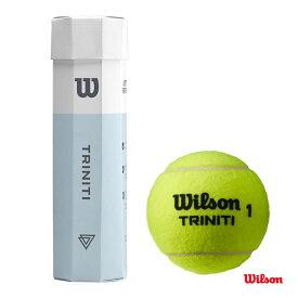 【応援クーポン10%OFF対象商品:11月20日まで】ウイルソン(WILSON) テニスボール TRINITI 4 BALL 1缶(4球) WRT115200