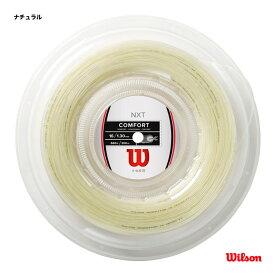 【クーポン10%OFF対象商品:1月20日まで】ウイルソン Wilson テニスガット ロール NXT 16 REEL ナチュラル WRZ912700