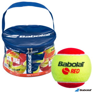 バボラ BabolaT テニスボール RED FELT(レッドフェルト) 24球入バッグ 516005
