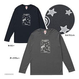 トアルソン TOALSON テニスウェア ユニセックス モンチッチロングTシャツ M0037