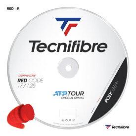 テクニファイバー Tecnifibre テニスガット ロール レッドコード(RED CODE) 125 赤 TFSR404(125rd)