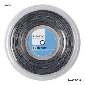 ルキシロン LUXILON テニスガット ロール アルパワー 115(ALU POWER 115) 115 シルバー WR8302101115