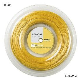 ルキシロン(LUXILON) テニスガット ロール 4G ROUGH(ラフ) 125 ゴールド WRZ990144