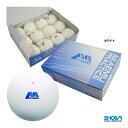 ショーワ(SHOWA) ソフトテニスボール アカエムプラクティス 1箱(12球入) ホワイト M-40000