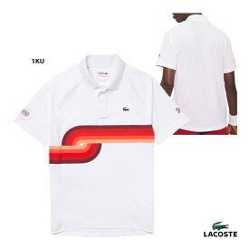 ラコステ LACOSTE テニスウェア メンズ ノバク・ジョコビッチ ボールムーブグラフィックポロシャツ DH6946L