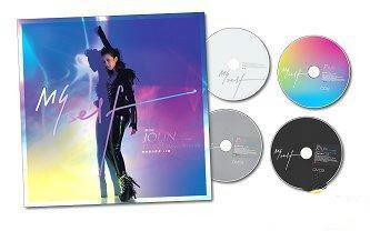 蔡依林 (ジョリーン・ツァイ) TAKE 2 MYSELF - Dance with Me (奢華慶功影音4D版) (2CD+2DVD)