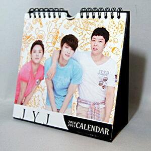 JYJ 2014年・2015年2年分卓上カレンダー(韓国製)