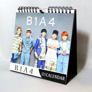 B1A4(ビーワンエーフォー) 2014年・2015年2年分卓上カレンダー(韓国製)