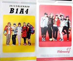 B1A4(ビーワンエーフォー) 2014年2015年壁掛けカレンダー