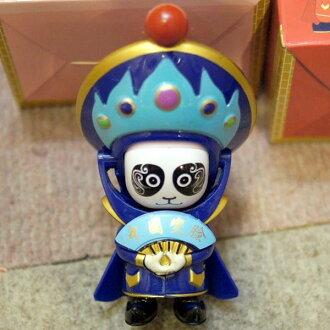 Beijing opera side strange aspect strange face toy blue