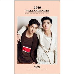 東方神起 TVXQ! 2019年壁掛けカレンダー K-STAR PHOTO WALL CALENDAR 2019