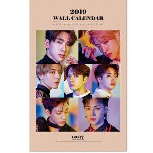 GOT7 ガットセブン 2019年壁掛けカレンダー K-STAR PHOTO WALL CALENDAR 2019