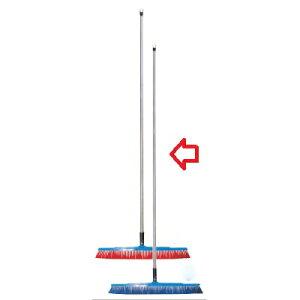 ブラシ バーキュート衛生管理用ほうき 幅広タイプ ハード青 62614205 450×1,130 /業務用/新品 /テンポス