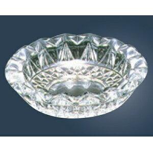 灰皿 ガラス グローリー 灰皿 P-05516-JAN P-05516 高さ55 直径:210 /業務用/新品 /テンポス