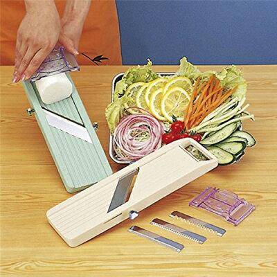 万能野菜調理器ベンリナーグリーン(交換刃3種類付)【業務用】【グループA】【プロ用】
