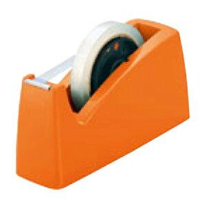 テープカッター 橙 TD-51-RG 幅85×奥行222×高さ105(mm)/業務用/新品/テンポス