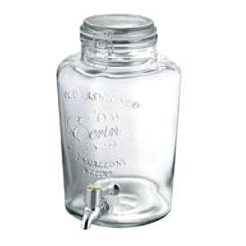 ガラス ドリンクサーバー 6L 幅252×奥行200×高さ320(mm)/業務用/新品/テンポス