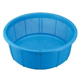 ザル セキスイ ザルカゴ #35 35L ブルー PE製 #35 高さ210 直径:550、底径:460 /業務用/新品/小物送料対象商品 /テンポス