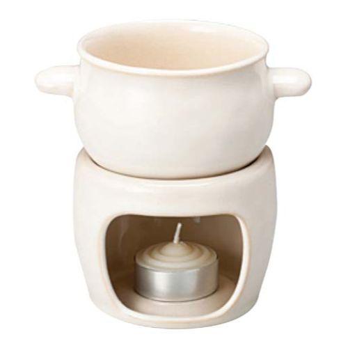ほっくり バーニャカウダ鍋 白 23081/業務用/新品/小物送料対象商品