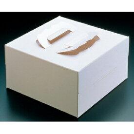 使い捨て ケーキボックス ハンドボックス ホワイトプレス(25枚入)5号 MINIHAND 高さ112/業務用/新品 /テンポス