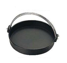 すきやき鍋 SYー11 30cm つる付 黒 鉄製 トキワ/業務用/新品/小物送料対象商品 /テンポス