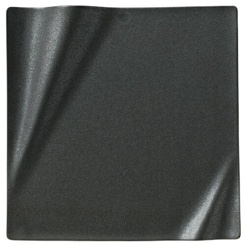 ネプチューン 28cm スクエアープレート クリスタルブラック 角皿/洋食器/業務用/新品/小物送料対象商品