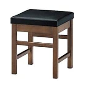 marukatsu(丸勝)'天竜 エスニック 天竜D椅子 (シート/黒レザー)【新品】【業務用】【送料無料】 /テンポス
