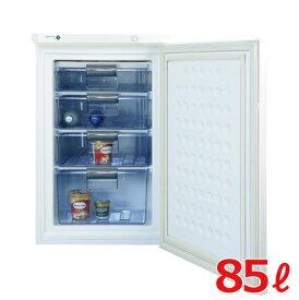冷凍ストッカー 85Lタイプ 冷凍庫 ノーフロスト前開き(アップライト式)FFU85R 幅550×奥行576×高さ848【送料無料】【家庭用】 /テンポス
