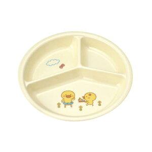 子供食器 三つ仕切皿 小 ひよこぐみ/新品/プロ用
