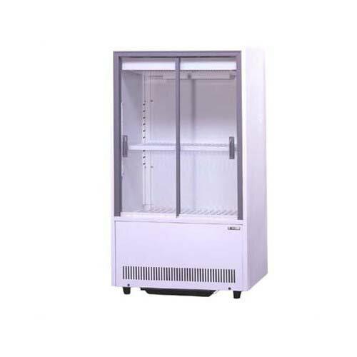 【業務用/新品】 サンデン 冷蔵ショーケース 標準型 スライド扉タイプ 131L VRS-68XE W633×D435×H1123mm 【送料無料】