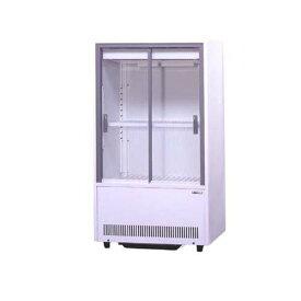 【7月中旬〜下旬発送予定】【業務用/新品】 サンデン 冷蔵ショーケース 標準型 スライド扉タイプ 131L VRS-68XE W633×D435×H1123mm 【送料無料】