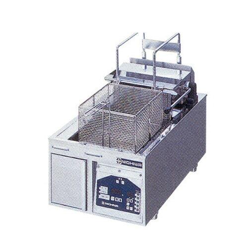 【業務用】電気フライヤー 卓上タイプ 【TEF-13-4-1LN】【ニチワ電気】幅380×奥行650×高さ300【プロ用】
