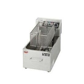 【業務用/新品】【マルゼン】電気フライヤー 8L MEF-M8FT 幅255×奥行475×高さ195(mm)【送料無料】