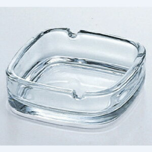 灰皿 スクエアー 東洋佐々木ガラス(TOYOSASAKI GLASS) P-05536-JAN/(業務用)(プロ用) /テンポス