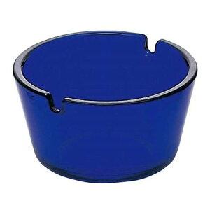灰皿 フィナール ガラス ブルー P-05581-DB/業務用/新品 /テンポス