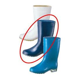 アキレス 長靴 タフテックホワイト62 透明底 23.5cm ブルー/業務用/新品 /テンポス