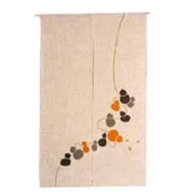 ひょうたんからこま のれん 527-06Y 金茶/業務用/新品/小物送料対象商品 /テンポス