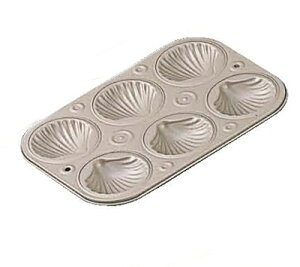 マフィンパンケーキ型 テフロンセレクト シェル型/業務用/新品 /テンポス