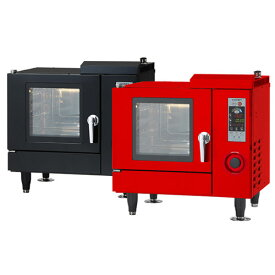 【業務用/新品】スチコン 電気スチームコンベクションオーブン ホテルパン3枚仕様 CSI3A-E3 (ブラック/レッド) コメットカトウ1入/送料無料 /テンポス