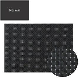 ランチョンマット COL.10ブラック&ブラックチェックエレガントマットノーマル 幅450 奥行310/業務用/新品 /テンポス