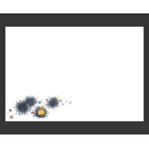 敷紙 尺3寸長手和紙敷マット(100枚単位)ウニ(5月〜8月) 幅380 奥行260/業務用/新品 /テンポス