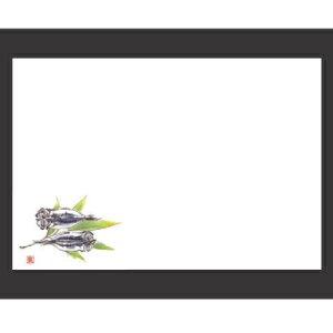 敷紙 尺3寸長手和紙敷マット(100枚単位)干物(オールシーズン) 幅380 奥行260/業務用/新品 /テンポス