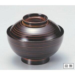 丼碗 4.5寸乱引椀漆調朱合春慶 高さ76 直径:137/業務用/新品 /テンポス