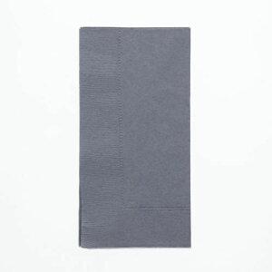 カラーナプキン 2PLYナプキン キャビア 約45cm 50枚/業務用/新品/送料800円(税別)