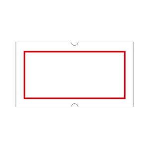 サトー ハンドラベラー用ラベル SP用 SP-4 赤枠 強粘 10巻/業務用/新品/小物送料対象商品