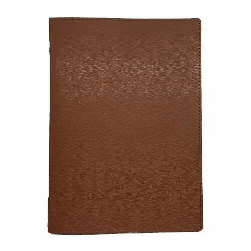 メニューブック 高級合皮 (A4 4ページ仕様) TOM-009 ブラウン (15冊入)【業務用/送料無料】