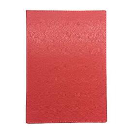 【即納可】メニューブック 高級合皮 (A4 4ページ仕様) TOM-010 レッド/業務用/新品/小物送料対象商品 /テンポス